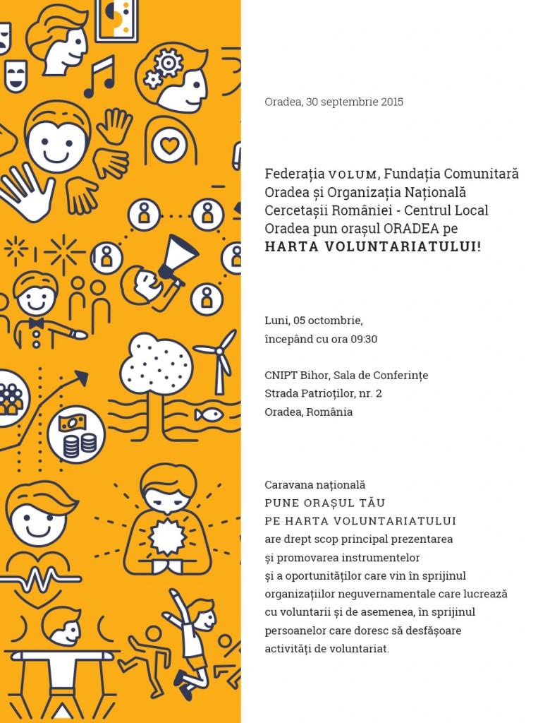 Invitație Caravana Națională - Oradea 05 octombrie